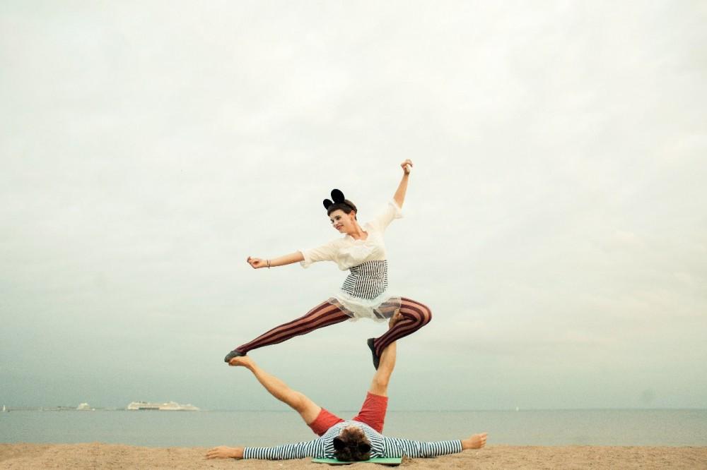 Анна annalanskaya про акробаланс и танец contemporary